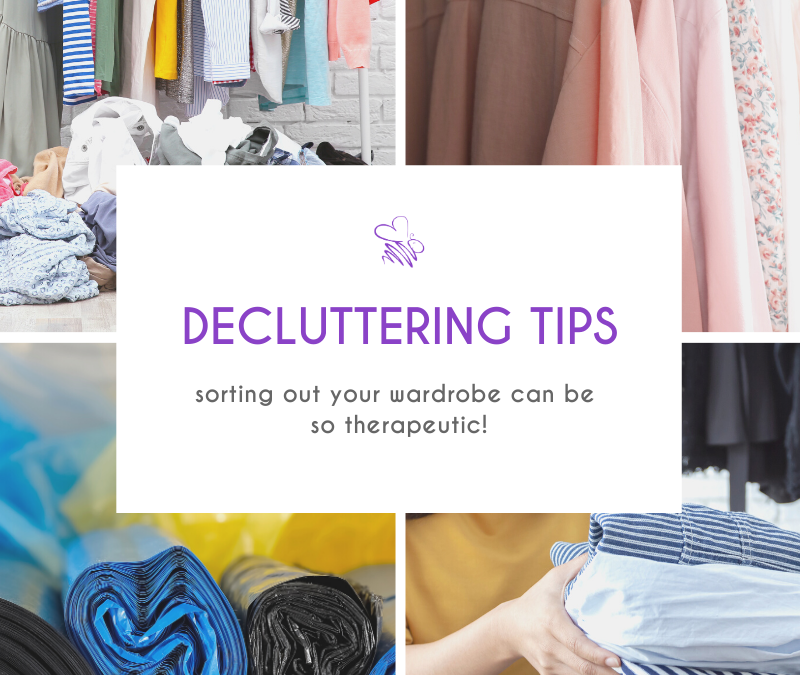 How to declutter and organise your wardrobe