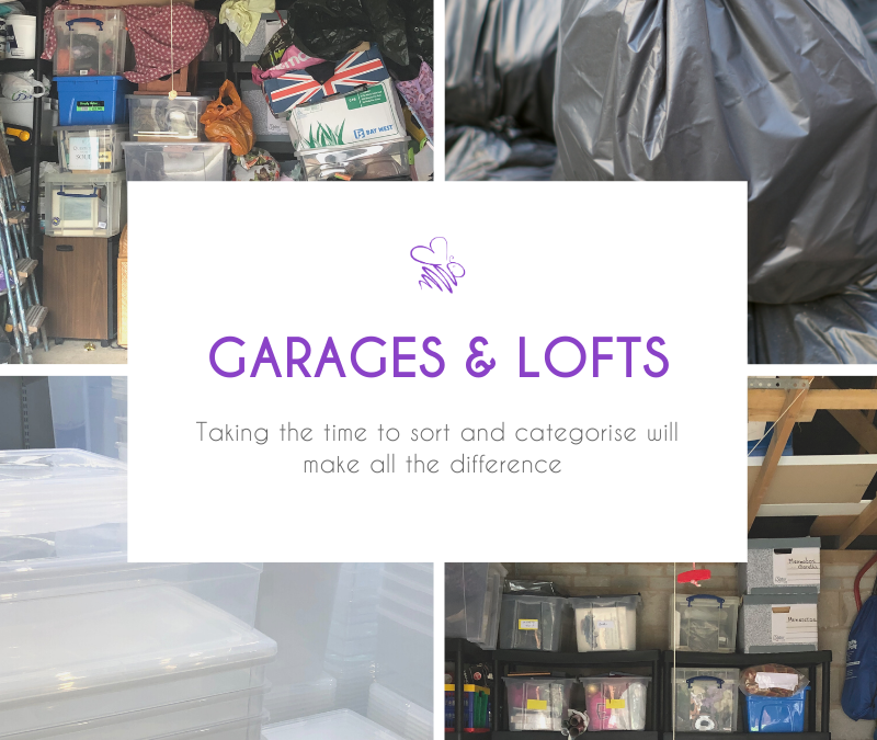 Declutter your garage or loft stress-free by following this easy how-to guide