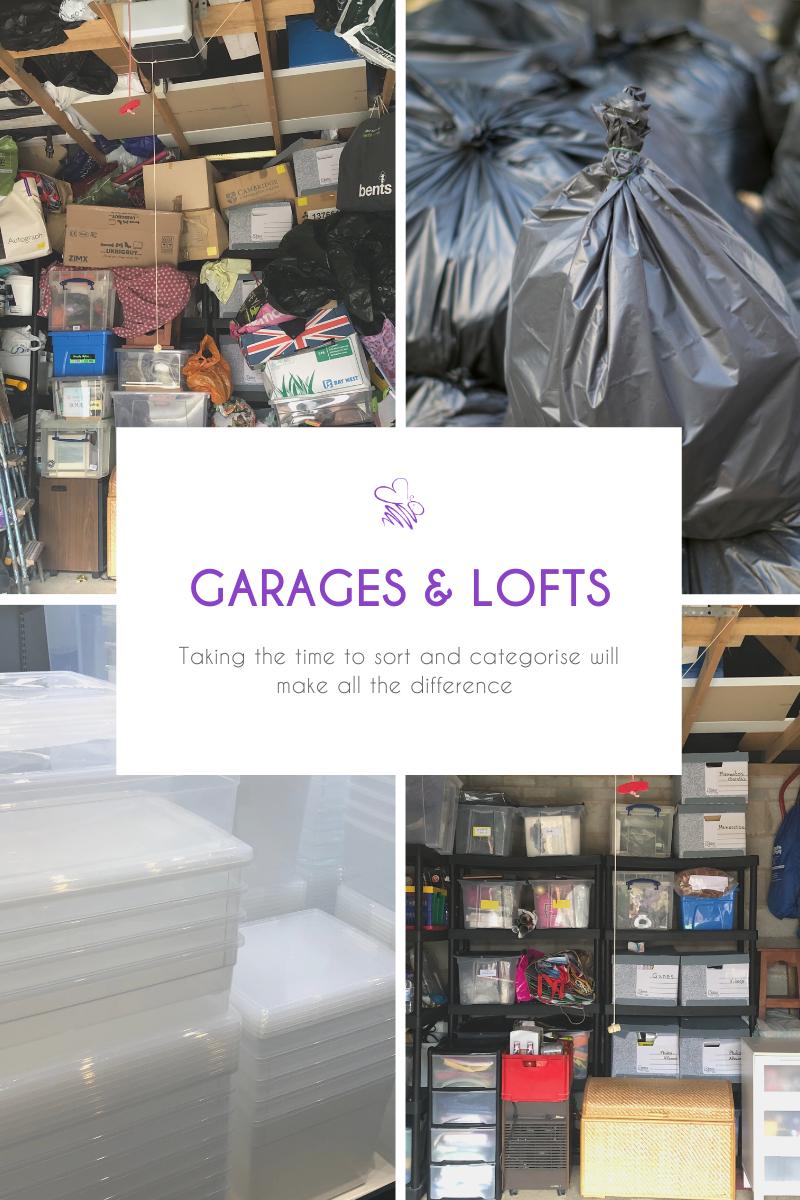 Declutter your garage or loft